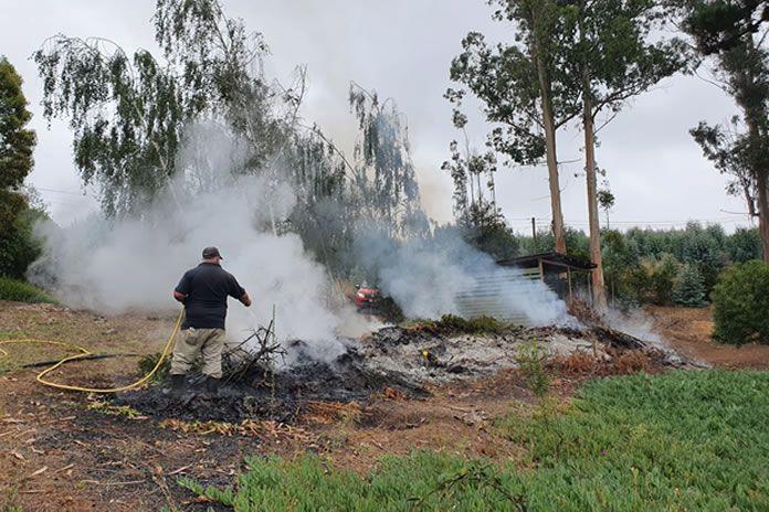 quemas ilegales